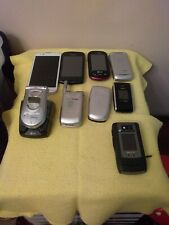 ASSORTED CELL PHONE ITEMS,CASES,EMPTY BOXES, 9 PHONES,CHARGERS,ECT.