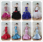 5 Set Fishtail Skirt  Ball Gown princess Party Dress clothes  For 11 in. Doll