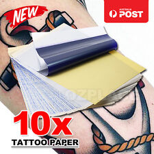 10 Pcs 4 layers A4 Size Carbon Stencil Thermal Copier Kit Tattoo Transfer Paper
