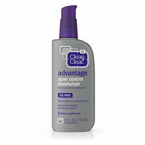 Clean & Clear Advantage Acne Control Moisturizer Salicylic Acid 118 mL (04/22)