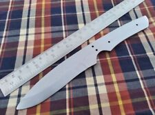 "9.25"" custom made hunting spring steel knife blank blade throwing new design"