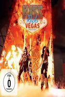 KISS - KISS ROCKS VEGAS (LIMITED DVD+CD) EAGLE ROCK  DVD+CD NEW+