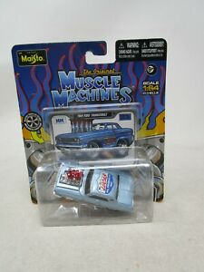 2012 Maisto Muscle Machines  *1964 FORD THUNDERBOLT* (LUCAS OIL) 1:64  (SEALED)