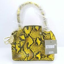 Studio 33 Major Key Micro Mini Dome Yellow Mini Bag