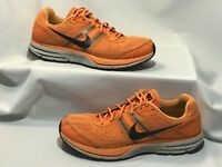 Men Size 13 Nike Air Pegasus 29 Neon Orange Trail Running Shoes 524950-800  A2107