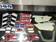 Aprilia Stickers SR Sr50 Max biaggi 1995 Decalco Dekor Satz Aufkleber Ap8237148