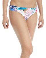 Tommy Bahama Womens Swimwear White Size Large L Reversible Bikini Bottom $74 544