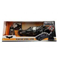 HOLLYWOOD RIDES 1:24 DARK KNIGHT TUMBLER BATMOBILE WITH BATMAN FIGURE
