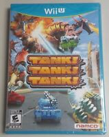 Tank! Tank! Tank! Wii U Factory Sealed Brand New