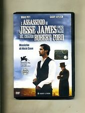 L'ASSASSINIO DI JESSE JAMES PER MANO DEL CODARDO ROBERT FORD #H&W DVD-Video 2012