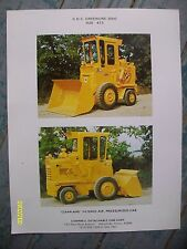 RARE CDC Greenline for International Harvester H25 413 Campbell Cab corp Flyer