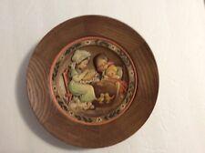 1972 Anri Wooden Collector Plate by Ferrandiz