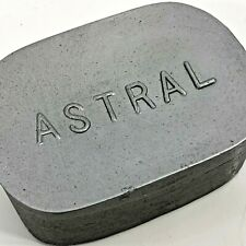 Astral Wax Pad Silver Full Bar Brass Rubbing Shoe Edges Heels F Ball Co