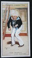Pirates of Penzance  Gilbert & Sullivan   Dick Deadeye   Vintage  Card