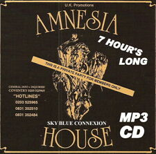 RAVE   ACID HOUSE   MP3 CD   OLD SKOOL  ,AMNESIA. HOUSE @  SKY BLUE