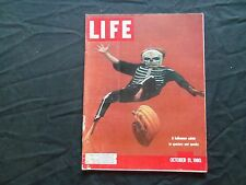 1960 OCTOBER 31 LIFE MAGAZINE - HALLOWEEN - L 1230
