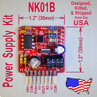 High Voltage Power Supply Kit - 45V to 190V Out - for Nixie, Old Radio - Kit