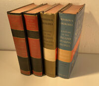 Winston Churchill - A History of the English Speaking Peoples Vol 1-4, 1st Ed.