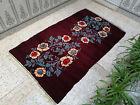 Handmade Vintage Moroccan Azilal Rug Berber Tribal Rug Wool Carpet 4.46 x 7.5 ft