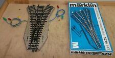 Märklin H0 5214 Dreiwegeweiche M - Gleis erstklassig geprüft in OVP