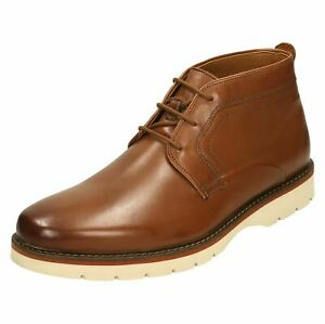 """Mens Clarks Casual Ankle Boots """"Bayhill Mid"""""""