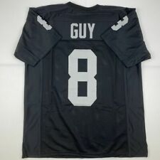 Ray Guy Hand Signed Autographed Oakland Raiders Jersey HOF 14 JSA Size Large