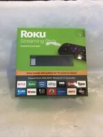 ROKU Streaming Stick (6th Generation - 2017) 3800R Black USED