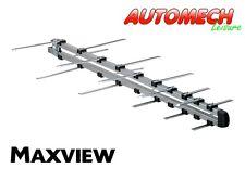 Quality Maxview Compact Log Digital UHF TV Aerial, Easy Fit, Caravan/Motorhome