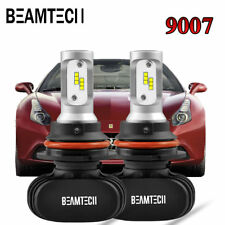 9007 HB5 LED Headlight Bulbs High Low Beam 8000LM 50W PHILIPS CSP Car Lights Kit