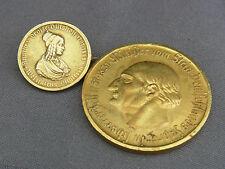 2 Münzen Westfalen 1923,100 Mark,50 Millionen Mark Notgeld