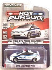 2016 GreenLight HOT PURSUIT NYPD 2016 CHEVROLET VOLT SEDAN NEW YORK POLICE DEPT!