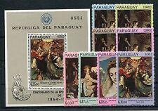 Paraguay 1700/07 Block 99 postfrisch / Kunst .............................1/1862