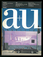 Architettura A+U Architecture and Urbanism n. 246 march 1991