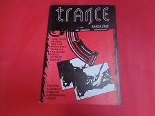 TRANCE - RIVISTA MUSICALE - MAGAZINE - N.4 DICEMBRE 1986