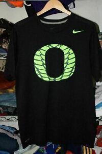 Oregon Ducks Nike Dri Fit Black t shirt Men's Large