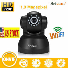 US STOCK! Sricam SP012 WIFI 720P IP Camera Home Security 2-Way Voice NightVision