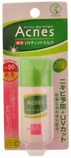 ROHTO Mentholatum Acnes Medicated UV Tint Milk SUNSCREEN Japan 30g SPF50+ PA++