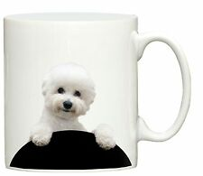 New Bichon Frise dog print mug printed cup puppy dogs gift puppies and animals