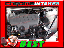 K&N+BLACK RED 04-08 PONTIAC GRAND PRIX GT1/2 GTP GXP 3.8L 5.3L AIR INTAKE 3.5