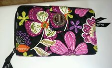 Vera Bradley NWOT Pirouette Pink Turn Lock Wallet *Beautiful Pattern*