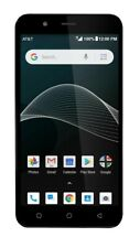 "New AT&T AXIA (QS5509A) Andr. 8. 5.5"" 16GB 5MP camera LOCKED Smartphone BB13/22"