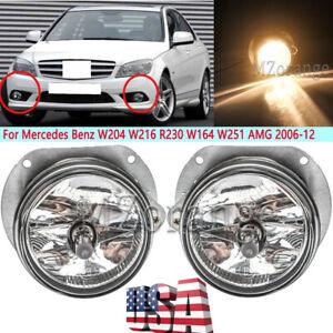 Fog Light For Mercedes Benz W204 W216 R230 W164 W251 AMG 2006 07 08 09 10-2012