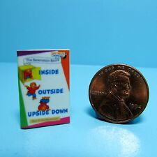 Dollhouse Miniature Replica of Book The Berenstain Bears Inside Outside ~ B013