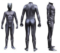 Movie Black Panther 3D Printed Spandex Jumpsuit Tights Halloween Cosplay Costume