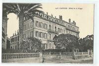 06  CANNES  HOTEL DE LA PLAGE