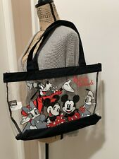 Disney Loungefly Mickey and Friends Clear Tote Bag