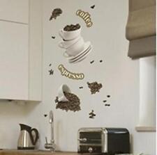 STICKER M    ADESIVO PER PARETE COFFEE  CENTRO COLORE