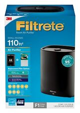 New other Filtrete 3M Small Room Air Purifier 110 ft filtering system filter