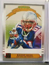 Randy Moss 2019 Donruss Football Gridiron KIngs Insert England Patriots