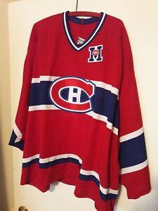 Montreal Canadiens SPRAGUE CLEGHORN 1923 Commemorative CCM Hockey Jersey